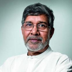 Changemaker Kailash Satyarthi.