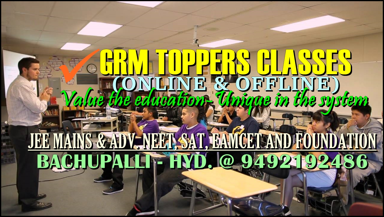 GRM TOPPERS CLASSES