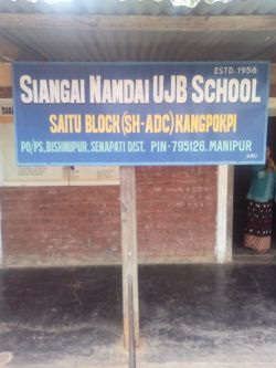 Siangai Namdai UJB School